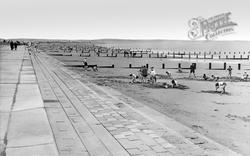 St Mary's Bay, The Beach c.1960