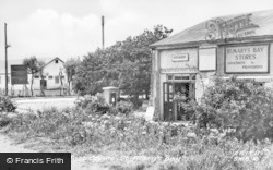 St Mary's Bay, The Post Office c.1955