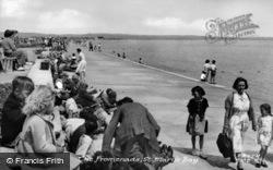 The Promenade c.1955, St Mary's Bay
