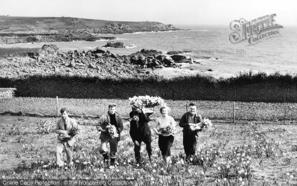 St Mary's, Flower Picking c.1955