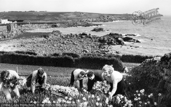 St Mary's, Flower Picking c.1959