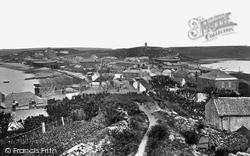 St Mary's, Hugh Town c.1864