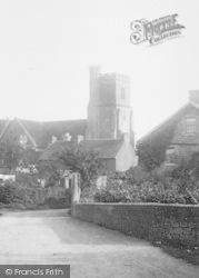 St Mary's Platt, The Church 1901