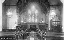 St Mary's Platt, The Church Interior 1901