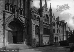 Church Of Our Lady And St Denis, West Door And Priory 1894, St Marychurch