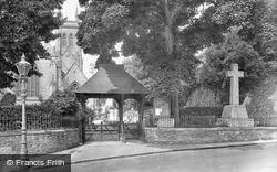 Parish Church And War Memorial 1926, St Marychurch