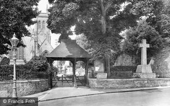 St Marychurch, Parish Church and War Memorial 1926