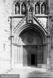 St Denis Porch And Priory 1894, St Marychurch