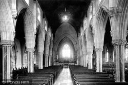 St Mary's Church Interior 1889, St Marychurch