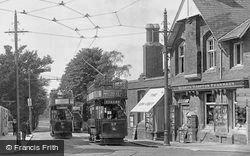 Trams And Quant's Hampton Pharmacy 1925, St Marychurch