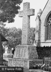St Marychurch, War Memorial 1927