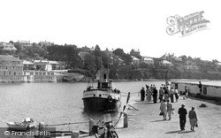 St Mawes, Arrival Of The Falmouth Ferry c.1955