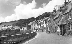 St Mawes, Castle Road c.1955