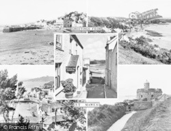 St Mawes, Composite c.1960