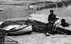 St Mawes, Father And Son 1930