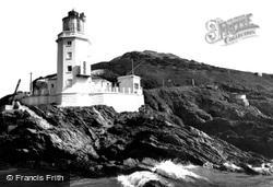 St Anthony's Lighthouse c.1960, St Mawes