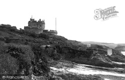 St Mawes, The Castle 1890