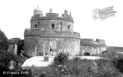 St Mawes, The Castle 1910