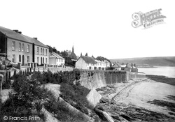 St Mawes, The Harbour 1890