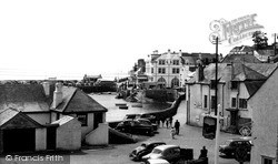 St Mawes, The Harbour From The Square c.1955