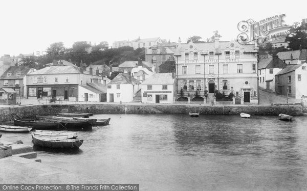 Photo of St Mawes, the Quayside 1904