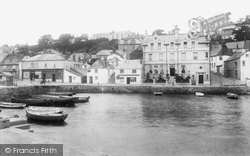 St Mawes, The Quayside 1904