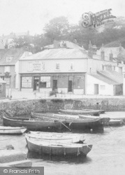St Mawes, The Quayside, The General Supply Stores 1904