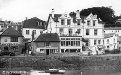 St Mawes, The Ship And Castle Hotel c.1955