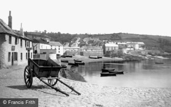St Mawes, the Village 1890