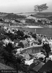 St Mawes, Town And Parish Church 1930