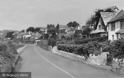 St Mawes, Tredenham Road c.1955