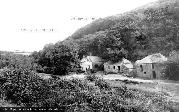Mawgan,Lawreys Mill 1887,Cornwall
