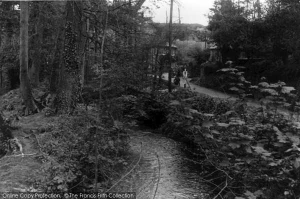 Photo of St Mawgan, Stream c1955