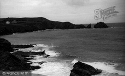 Merope Rocks From Mother Ivey's Bay c.1955, St Merryn