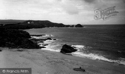 Mother Ivey's Bay c.1955, St Merryn