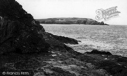 Mother Ivey's Bay From Cataclew Point c.1955, St Merryn