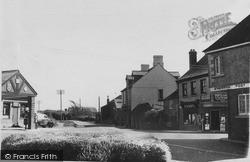 The Cross Road c.1955, St Merryn