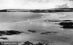 Trevone From Harlyn Bay c.1955, St Merryn