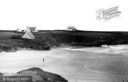 Treyarnon Beach c.1955, St Merryn