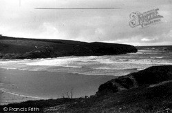 Treyarnon Headland c.1955, St Merryn