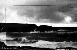 Treyarnon Island c.1955, St Merryn