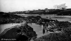 Treyarnon Pool c.1955, St Merryn
