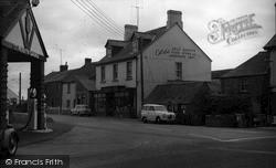 Village Shop And Garage c.1955, St Merryn