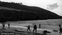 St Michael Caerhayes, Caerhayes Beach c.1955