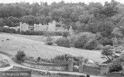 St Michael Caerhayes, Caerhayes Castle c.1955