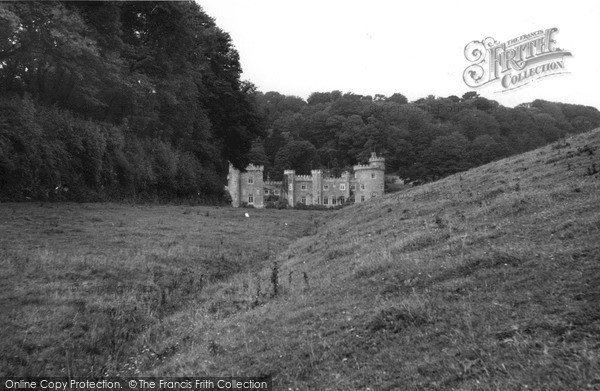 Photo of St Michael Caerhayes, Caerhayes Castle c1960, ref. s744090