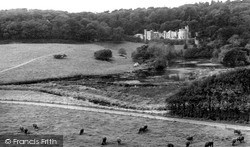 St Michael Caerhayes, Caerhayes Castle c.1960