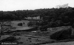 St Michael Caerhayes, Caerhayes Castle c.1965