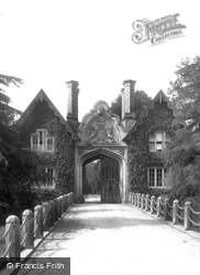Approach To Tregothnan Lodge 1890, St Michael Penkivel