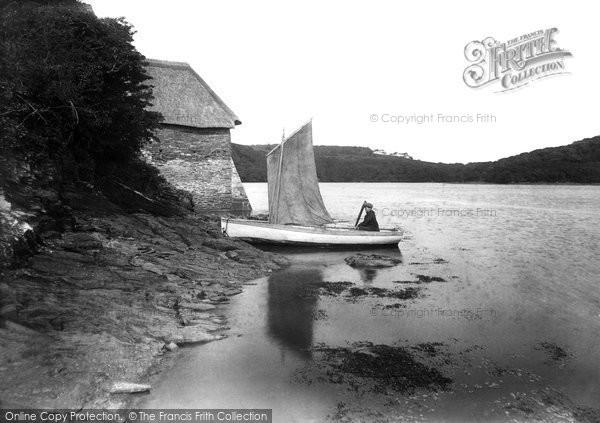 Photo of St Michael Penkivel, Tegothnan Boat House 1912